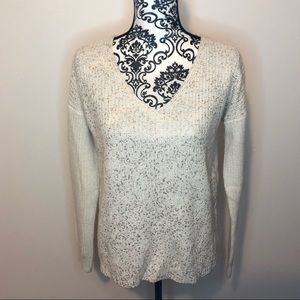 Mossimo Rose Gold Speck Knit Sweater